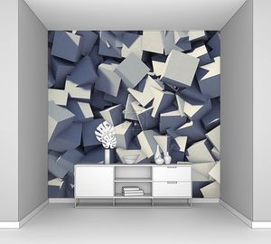 Абстрактный фон геометрических серых