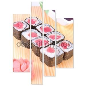 Маки суши с тунцом