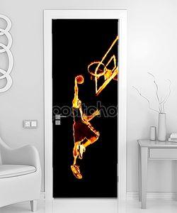 Огненный баскетбол хлопайте замочить