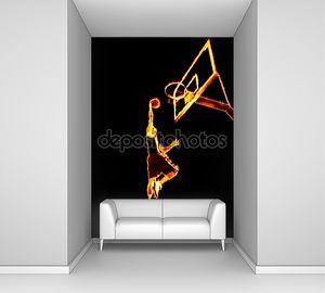 Огненный баскетбол