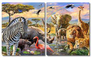 Животные в саванне