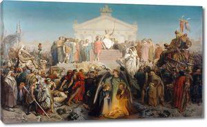 Жером. Век Августа, рождение Христа