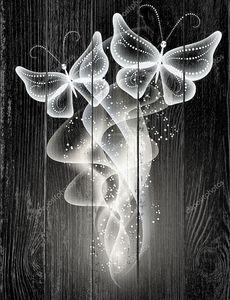 Дым и бабочка