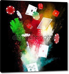 фон покера