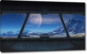 Вид из космического корабля