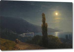 Айвазовский. Лунная ночь в Крыму