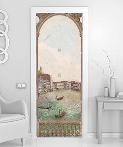 Вид на Венецию с небольшой террасы