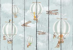 Воздушные шары со зверятами