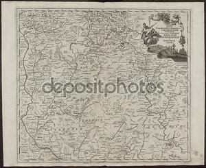 Карта 19 века