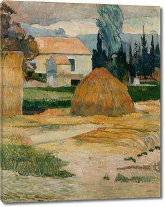 Поль Гоген. Пейзаж близ Арля