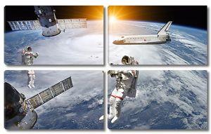Космонавты и космические корабли
