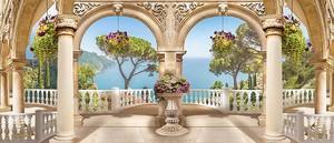 Вид с невероятной террасы