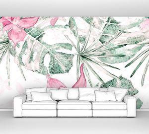 Экзотический гавайский дизайн