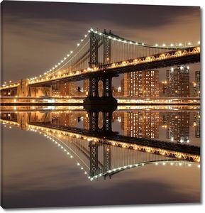 Манхетен ночью