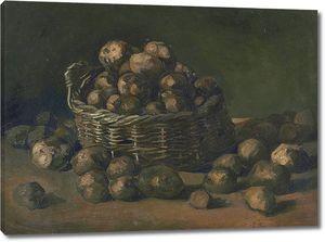 Ван Гог. Корзина с картофелем