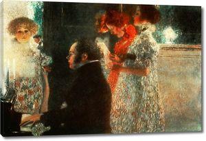 Климт Густав. Шопен за пианино