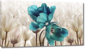 Лазурные тюльпаны