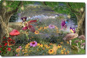 Сказочные феи в лесу