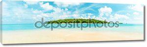 Тропический остров Панорама