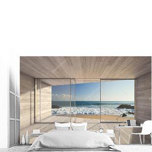 Пустой современной гостиной