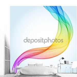 Абстрактный радужный фон