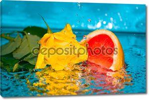 Вода Роза грейпфрута