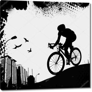 Велосипед и город