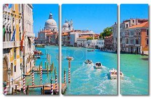 Гранд-канал в Венеции, Италия.