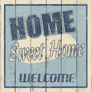 старинные дома сладкий дом плакат
