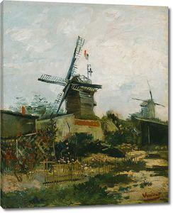 Ван Гог. Ветряная мельница