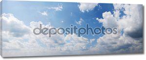 панорамный вид пасмурное небо