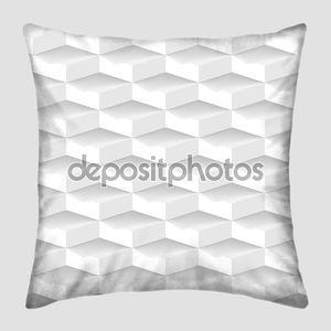 белый 3-й геометрический бесшовный образец