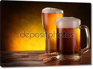 натюрморт с бочковым пивом