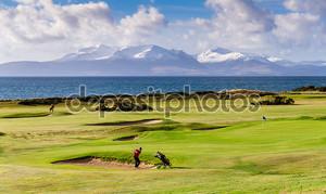 Великий день для игры в гольф