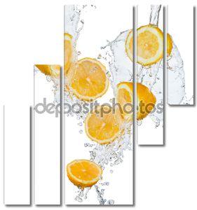 Половинки лимонов