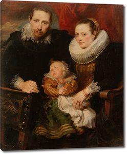 Ван Дейк  Антонис. Семейный портрет