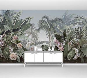 Пальмы и тропические растения