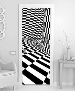 абстрактная иллюзия чб