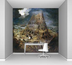 Питер Брейгель (Младший). Строительство Вавилонской башни