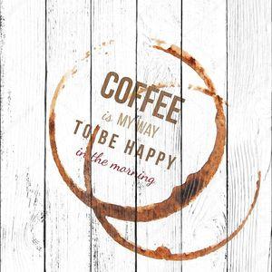 Кофе пятна с типа дизайн