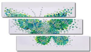 Абстрактная бабочка
