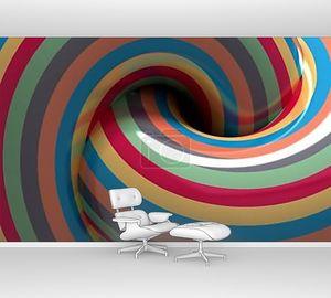 гипнотическая спираль разноцветная
