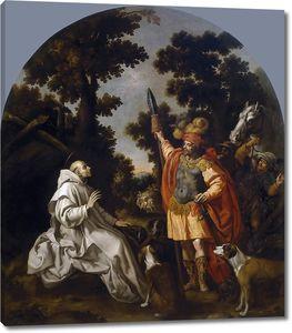 Кардучо Висенте. Встреча святого Бруно с графом Сицилии и Калабрии