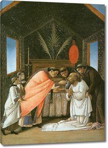 Боттичелли. Последнее причастие св.Иеронима