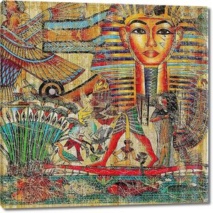 Старинный фон в египетском стиле
