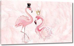 Танцующие фламинго