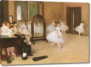 Эдгар Дега. Танцевальный класс