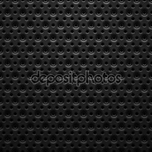 черный металл текстуры с отверстиями