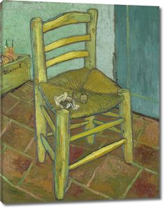 Ван Гог. Стул Винсента с трубкой