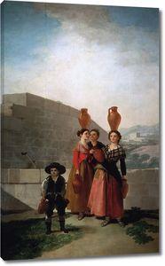 Гойя и Лусиентес Франсиско де. Девушки с кувшинами